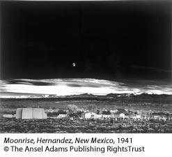 Ansel Adams Classic Images Moonrise Hernandez New Mexico